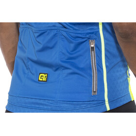 Alé Cycling Graphics PRR Salita Short Sleeve Jersey Men blue-fluo yellow